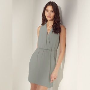 Wilfred Sabine Dress in Dusty Sea Green
